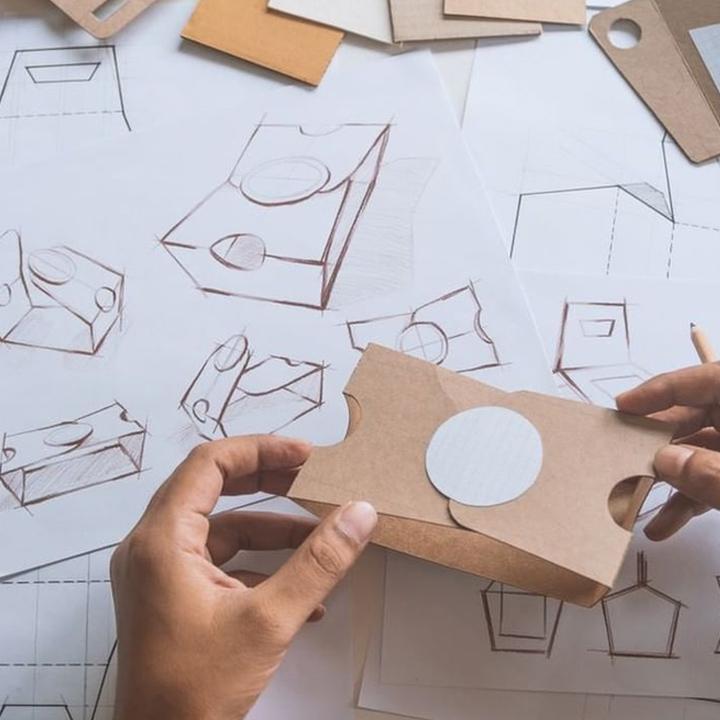 Projeto etiqueta adesivo personalizado corte redondo